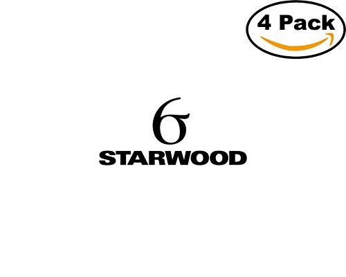 Starwood Office (Starwood 1 4 Stickers 4X4 inches Car Bumper Window Sticker Decal)