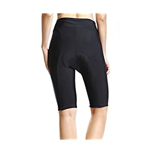 Baleaf Women's Cycling Padded Shorts Black UPF 50+ Size XL