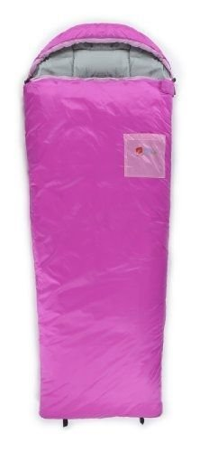 Chinook Kid'S Hooded Tapered Synthetic 32-Degree Sleeping Bag, Pink by Sleeping Bag