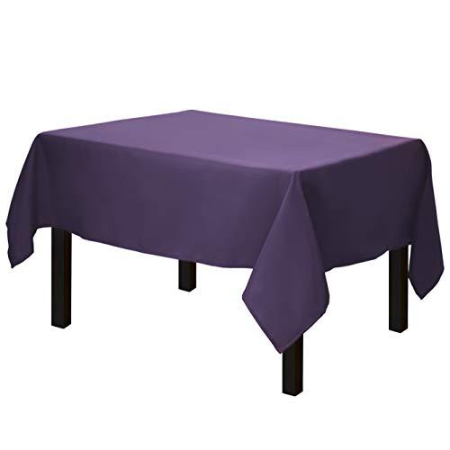 Purple Tablecloths - Gee Di Moda Square Tablecloth -