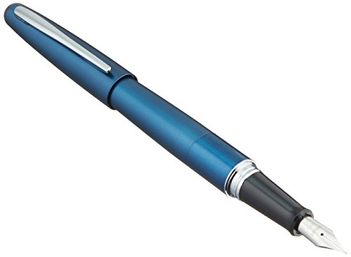 Pilot Cocoon Fountain Pen Fine Nib Blue Body (FCO-3SR-L-F)