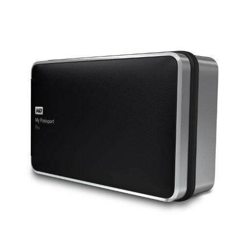 WD 4TB  My Passport Pro Portable  External Hard Drive  - Thunderbolt  - WDBRNB0040DBK-NESN primary
