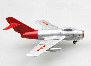 MRC Easy Model MIG-15 Chinese Air Force Red Fox inches
