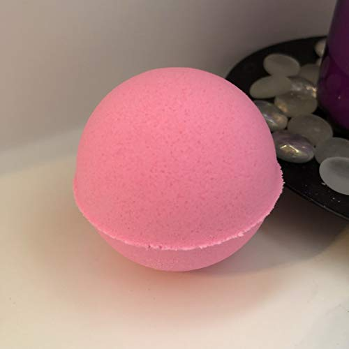 The Sugar Shak Collection Luxurious Bath Bomb 7 oz Baseball Size/Handmade/Vegan Friendly/Cruelty Free/Bath Fizzie/Surprise Gift For Her (Sweet pea) (Sweet Pea Bath Bomb)