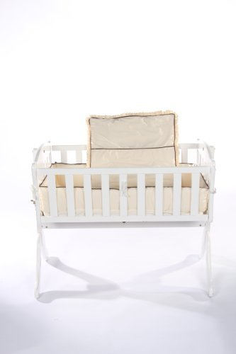 Baby Doll Bedding Go Green Organice Cradle Bedding Set Ecru [並行輸入品]   B075MX9HF2