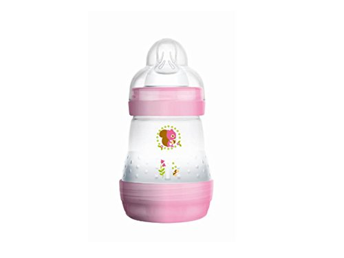 Anti-Colic Rose 160ml MAM Flasche BABY MAM FRANCE 5442754