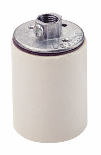 Leviton 10045 Medium Base, One-Piece, Keyless, Incandescent,
