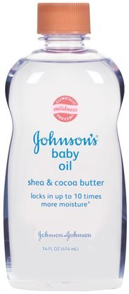 Johnsons Baby Oil - Shea & Cocoa (14-oz.)