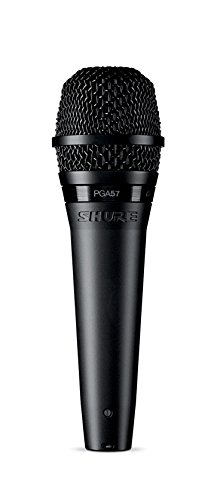 Shure PGA57-LC Cardioid Dynamic instrument Microphone with No Cable (Musical Instrument Microphones)