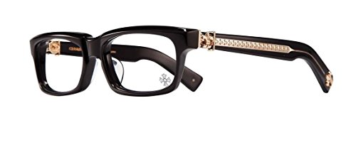 Chrome Hearts - Splat-A - Eyeglasses (Black-Gold Plated, - Glasses Chrome