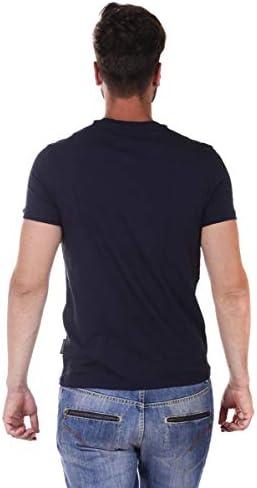 Navy Dolce /& Gabbana Pure Cotton Crew-Neck Men/'s T-Shirt