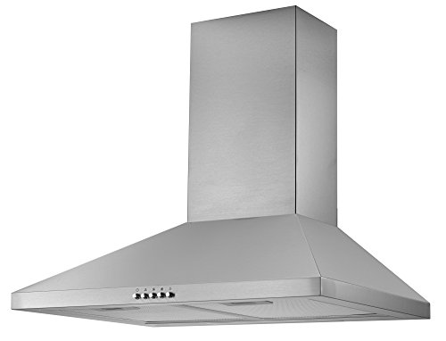 Cookology CMH605SS 60cm Chimney Cooker Hood in Stainless Steel | Kitchen Extractor Fan