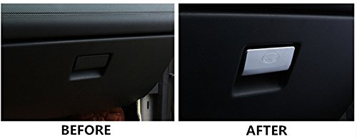 Inner Console Glove Box Button Cover Trim for Land Rover Discovery Sport 2015-2018