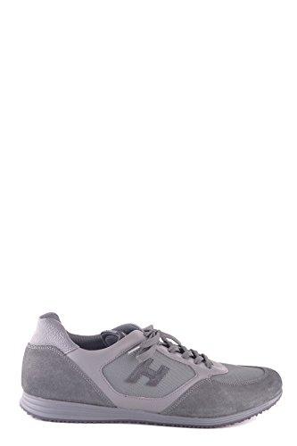 Hogan Sneakers Uomo MCBI148340O Camoscio Grigio