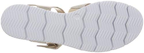 Caprice Dame 28700 Slingback Sandalen Guld (guld Multi 994) UEw2KhqDH