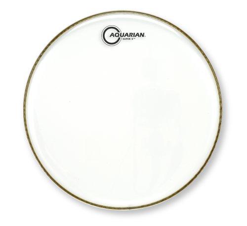 Aquarian Drumheads S2-12 Super-2 Clear 12-inch Tom Tom Drum (Aquarian Super 2 Drum Heads)