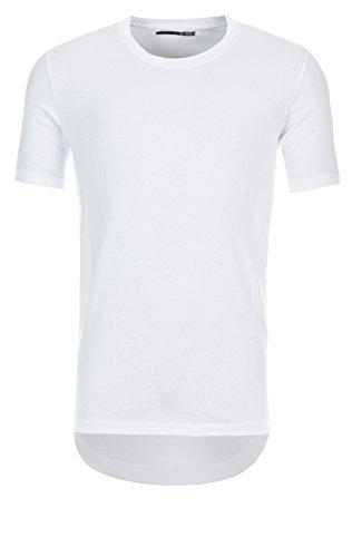 Sky Rebel Long T-Shirt OTIS ZIP SHIRT Basic, 22000 white, XXL