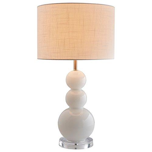 Stone & Beam Modern Glass 3-Ball Lamp With Bulb, 13.0