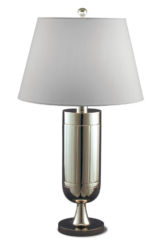 Lighting Enterprises Trophy Table Lamp, Polished Nickel - Enterprises Polished Nickel Floor Lamp