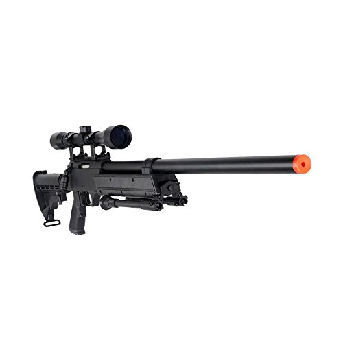 Well MB06AB Airsoft Bolt Action Sniper Rifle with Scope & Bipod FPS-460 - - Airsoft Well