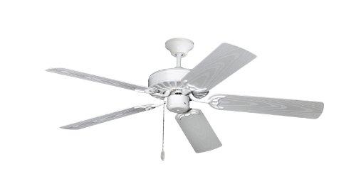 Cheap TroposAir Proseries Builder Outdoor Ceiling Fan 52″ in Pure White by Dan's Fan City