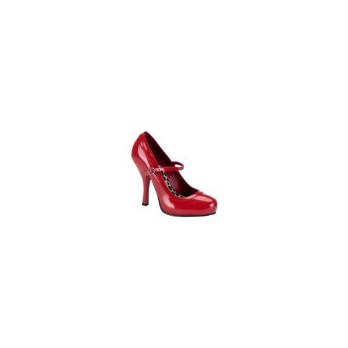 De 50 Zapatos Pretty Mujer Para Rot Tacón Pleaser Lack ETwt5z