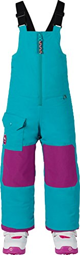 Burton Boys Minishred Maven Bib Pants, Everglade, 4T