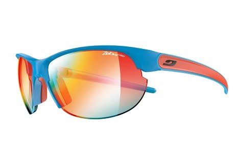 Julbo Breeze Sunglasses, Matte Blue/Coral, - Julbo Fit Asian