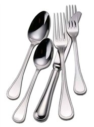 Couzon Le Perle Stainless Steel Five Piece Place Setting