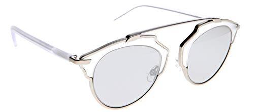 Dior Women DIOR SOREAL/S 48 Clear/Silver Sunglasses 48mm (Dior Sonnenbrille Silber)
