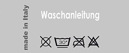 Lashuma Rutschfeste Badewanneneinlage mit Saugn/äpfen in blau mit Bl/üten Muster Wanneneinlage Rutschfest ca.35x73 cm