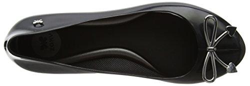 Zaxy Women's Romantic Bow Ballet Flats Black (Black) CvAQP8tNM