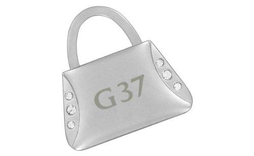 Infiniti G37 Purse Shape Keychain W//6 Swarovski Crystals INKCYP300-P