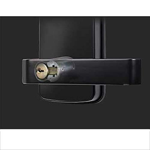 GAOPIN Combination Locks - WiFi Digital Electronic Smart Door Lock App, Smart Home Mobilephone App Intelligent Bluetooth keypad Password Door Lock, Black,3 by GAOPIN (Image #4)