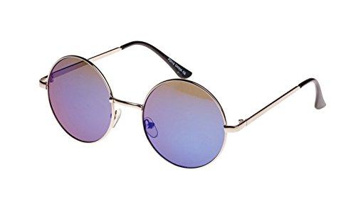 sol Blue SIlver gafas azul de Oversize Eyewear Lennon Revive 7U0BFzqW