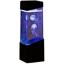 Jellyfish Lamp Electric Jellyfish Tank Aquarium-Color Changing Mood Lamp For Home Decoration Magic Lamp For Gift