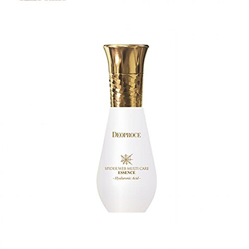 Deoproce, Spider Web Multi Care Essence, Spider Web Protein, excellent water retention, Whitening, Anti wrinkle, All Skin Type, 1.7 Oz - Deo Essence Whitening