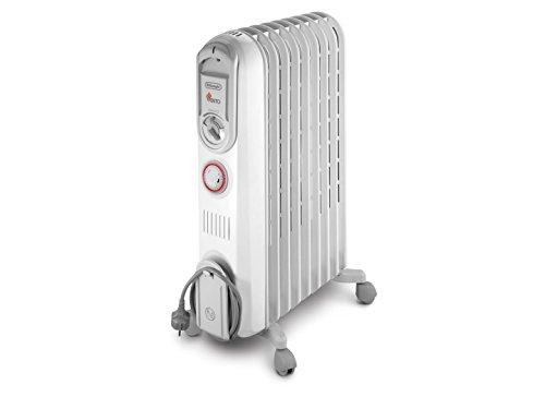 DeLonghi Vento V550920T - Calefactor, 2000 W, 60 m³, blanco: Amazon.es: Hogar