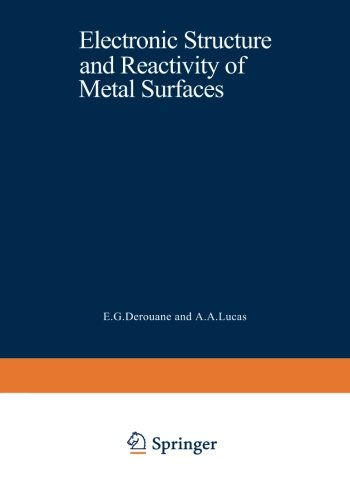 Electronic Structure and Reactivity of Metal Surfaces (Nato Science Series B:)