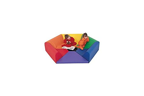 Children's Factory Hexagon Happening Hollow Classroom Furniture (CF321-910) ()