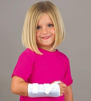 Florida Orthopedics Microban Wrist Splint - Left Pediatric