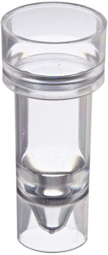 Globe Scientific 110911C Polystyrene Multi-Purpose Sample Cup, 3mL Capacity (Pack of 1000)