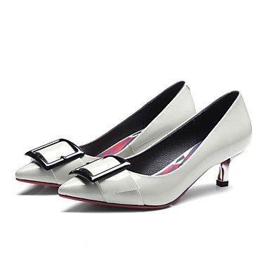 Jaune à Gris Confort Automne Hiver ggx Femme Plat Décontracté Confort Polyuréthane Talons LvYuan yellow Chaussures t7wPxp