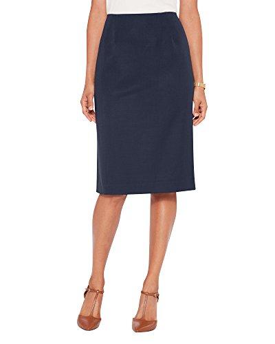 - Pendleton Women's Seasonless Wool Gabardine Pencil Skirt, 12 Petite, Blue