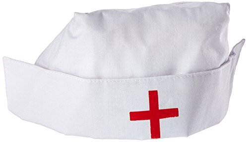 Jacobson Hat Company Women's Nurse Hat, White, Adult]()