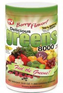 Greens World Delicious Greens 8000 Berry -- 10.6 ()