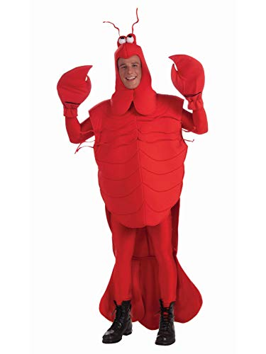 Forum Novelties Men's Craw Daddy Mascot Costume, Red, Standard -