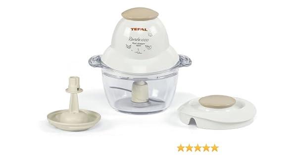 Tefal 8513.31 Rondo 1000 de Luxe – Picadora universal color blanco/Greige: Amazon.es: Hogar
