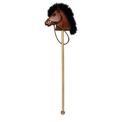 Rogue Red Roan Stick Horse by Rogue
