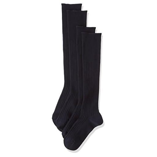 (アツギ)ATSUGI メンズ靴下 WORK-Fit(ワークフィット) 6×2リブ ハイソックス 〈2足組〉